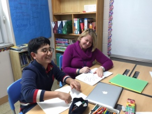 Working with reluctant writers- gr. 6